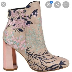 So Me - Copper Shay Embroidered Bootie